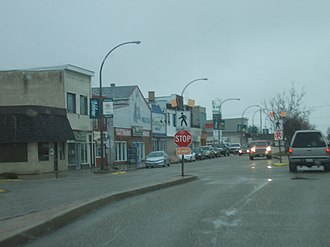 Killarney, Manitoba - Downtown Killarney, Manitoba