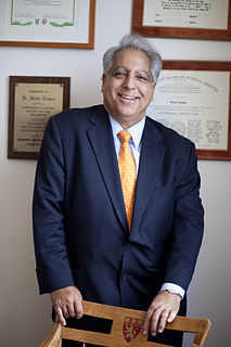 Sanjiv Chopra American medical academic
