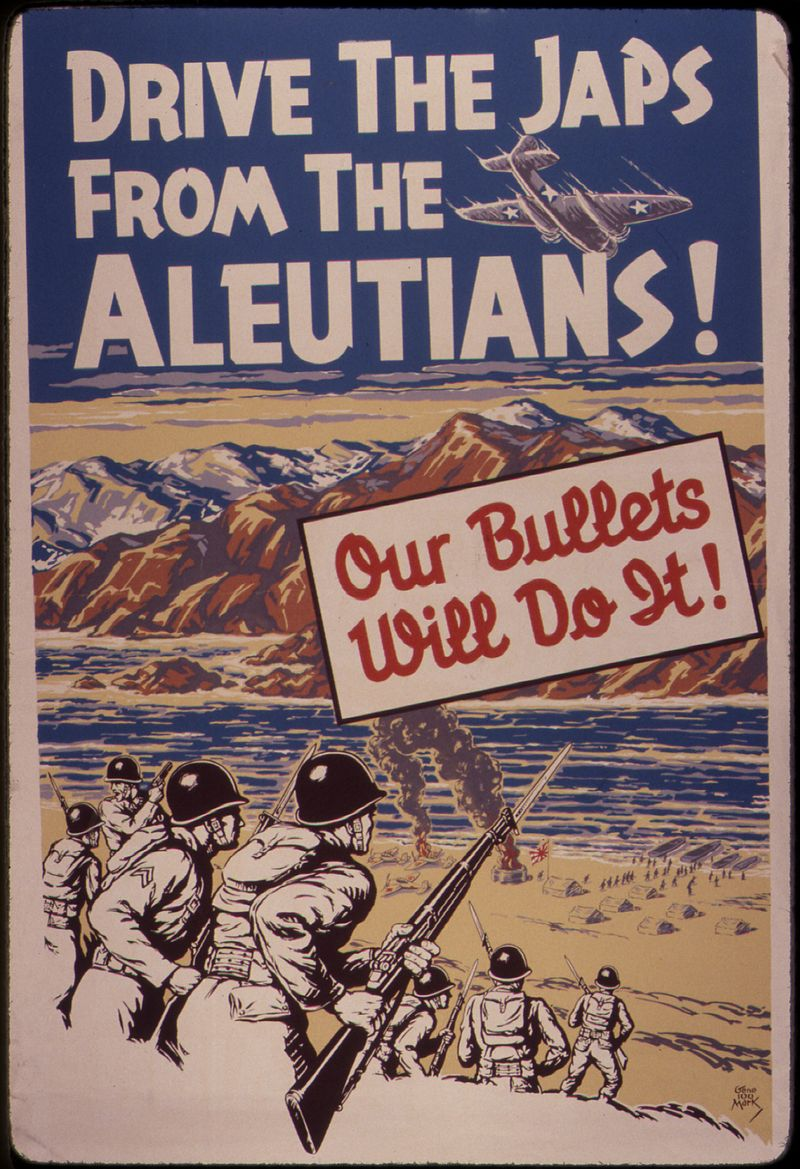 Drive the Japs from the Aleutians^ Our bullets will do it^ - NARA - 534788.jpg