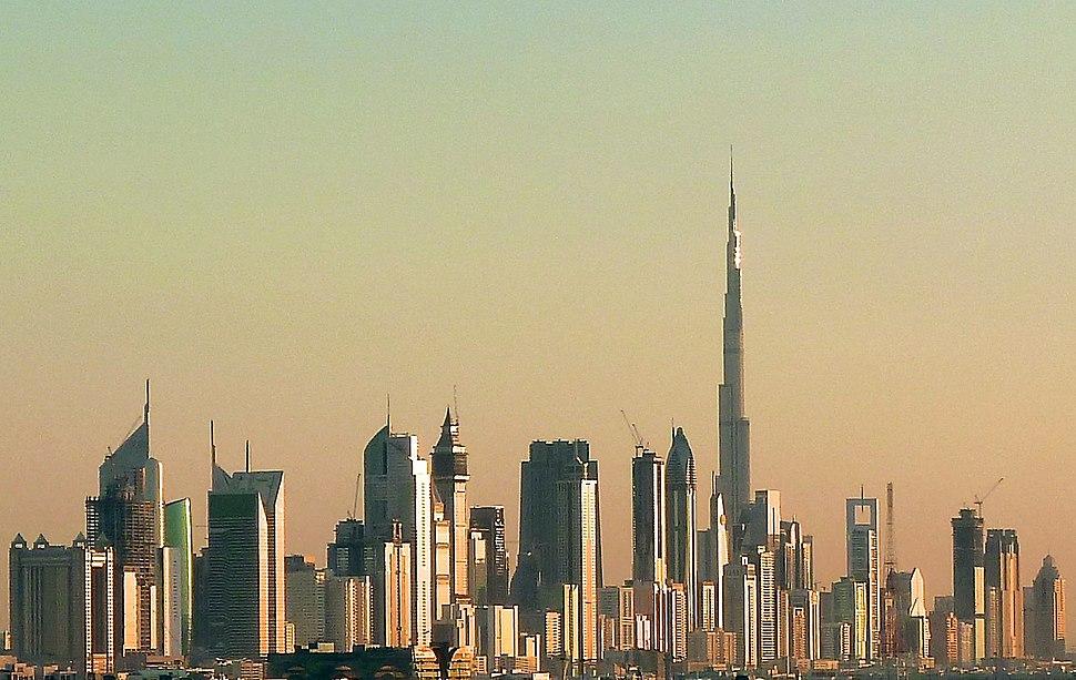 Dubai skyline 2010