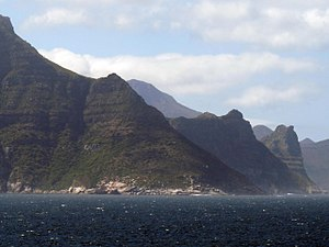 Karbonkelberg - View from the west of Duiker Point below the Karbonkelberg