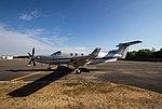 EGLK - Pilatus PC-12 - OE-EPC (29610922868).jpg