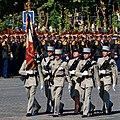 ENSOA flag guard Bastille Day 2008.jpg