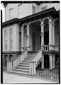 ENTRANCE AND STAIR DETAILS - Dr. Robert Loughran House, 296 Fair Street, Kingston, Ulster County, NY HABS NY,56-KING,15-3.tif