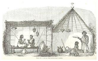 Kordofan - Image: ESCAYRAC(1853) p 454 Planche VIII