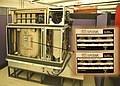 ETA Systems ETA10 supercomputer (1987-1989) where CPU is mounted in a liquid nitrogen tank for liquid cooling (End of an ERA) - Computer History Museum, 2010-01-21 15.43.38 by Jitze Couperus.jpg