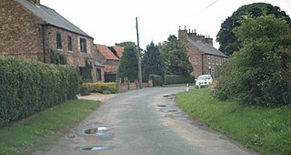 East Knapton Village in North Yorkshire, England