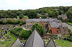 East of Bidston Village from the tower of St Oswald's church, Bidston.jpg