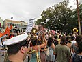 Easter Sunday in New Orleans - Brass Band Jam by Armstrong Arch 07.jpg