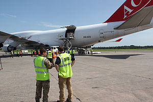 West African Ebola virus epidemic - Ebola crisis: More UK aid arrives in Sierra Leone