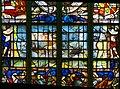 Edam - Grote Kerk - View North on Stained Glass Window donated by the Amsterdamse Zeeraad III.jpg
