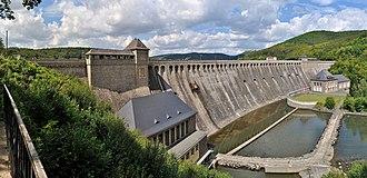 Eder - Edersee Dam near Waldeck