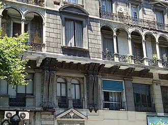 Loggia - Image: Edificio La Inmobiliaria (loggia)