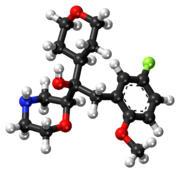 Edivoxetine ball-and-stick model.png