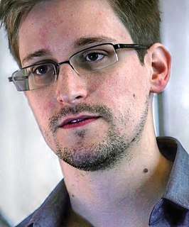 Edward Snowden American Whistleblower and Former National Security Agency Contractor