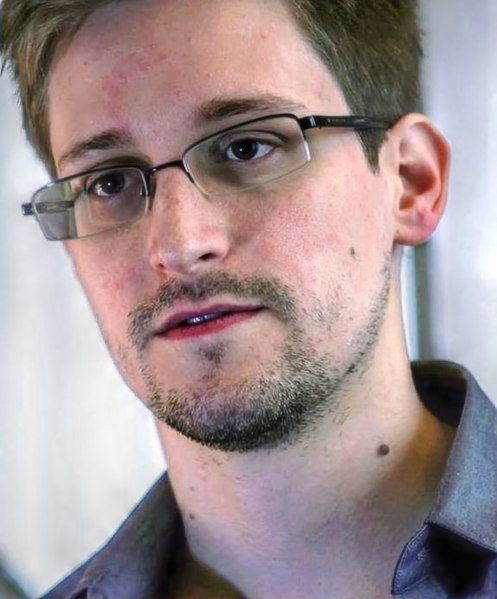 Edward Snowden bei einem Interview mit dem Guardian.