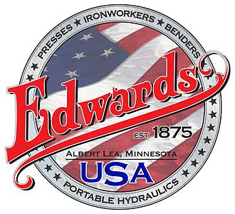 Edwards Manufacturing Company - Image: Edwards Logo