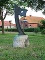 Eexterveenschekanaal - Scheepsboeg (1989) van Wladimir de Vries - 2.jpg