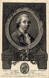 Christian Cannabich German violinist, composer, and Kapellmeister