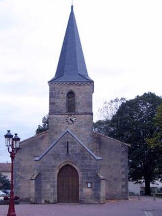 Canéjan - Image: Eglise Canejan