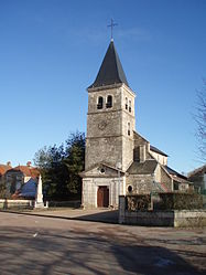 The church in Saint-Broing-les-Moines