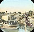Egypt, Arrival of Post Boat, Girgeh.jpg