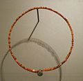 Egyptian carnelian necklace.JPG