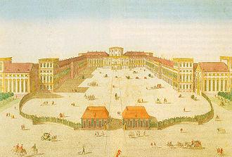 Ignaz Fränzl - Mannheim Palace (1755)