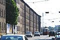 Eichenstraße Arbeiterwohnhäuser Südteil mit Bahnhof.jpg