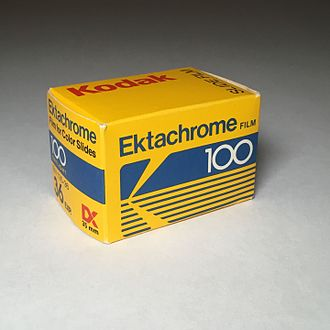 Ektachrome - Kodak Ektachrome 100 35mm Slide Film