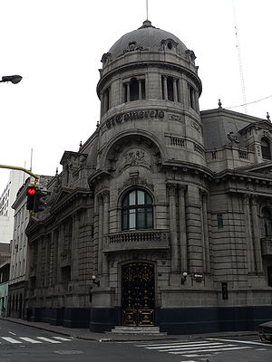 El Comercio (Peru) - Headquarters in the Historic Centre of Lima