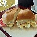 El pebete de jamón y queso con tomate que desayuné esta mañana. (10102847543).jpg