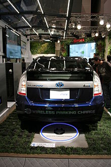 Toyota Will Test Wireless Charging For A Future Prius Phv In 2017 Shown Demonstration At The Tokyo Motor Show