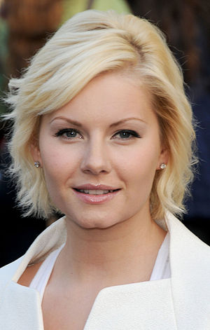 Elisha Cuthbert - Cuthbert promoting 24 in 2009