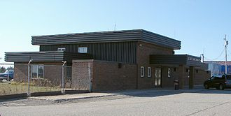 Elliot Lake Municipal Airport - Elliot Lake Airport terminal building