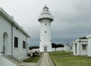 lighthouse in Pingtung County, Taiwan