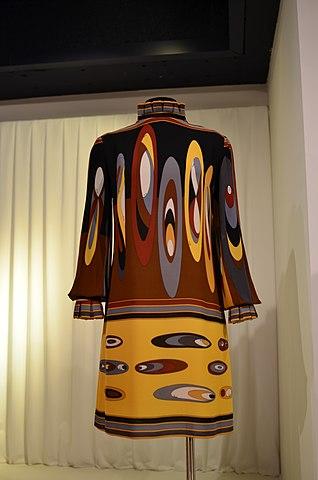 File Emilio Pucci Silk Tail Dress