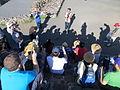 Encuentro Wikimedia Iberoamericano 2013 - Explicaciones en Teotihuacan.JPG