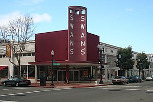 Old Oakland - Swan's. An old marketplace now occupied by lofts and several stores.