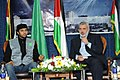 Eng. Khalid K. El-Hamedi with Prime Minister of the Palestinian National Authority Ismail Haniyeh .jpg