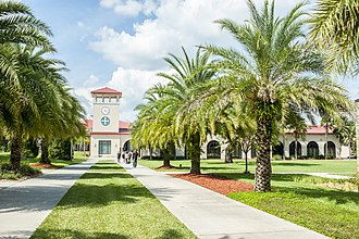 Saint Leo University - Saint Leo Main Entrance