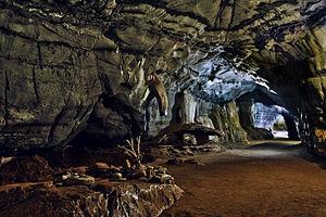 Sudwala Caves - The entrance chamber.