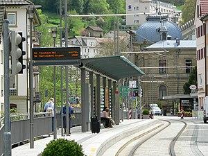 Bad Wildbad - The Enz Valley Railway at Bad Wildbad