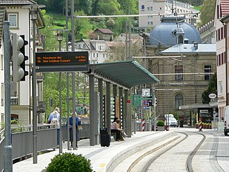 Bad Wildbad - The Enz Valley Railway at Bad Wildbad