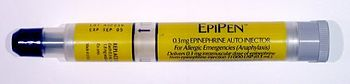 EpiPens are portable epinephrine-dispensing de...