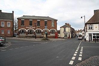 Epworth, Lincolnshire - Image: Epworth Market Place geograph.org.uk 1158627