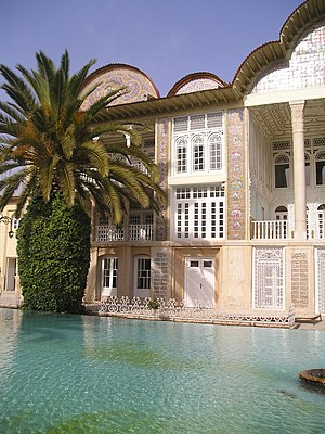 Water crisis in Iran - Water in Iran is used for the irrigation and decoration of traditional gardens, such as the Eram Garden in Shiraz.