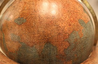 Mercator's globe of 1541