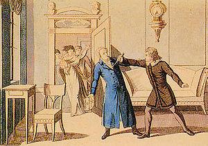 August von Kotzebue - Stabbing of Von Kotzebue