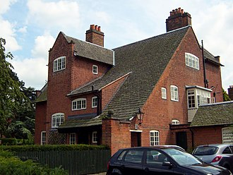 Ernest Gimson - Inglewood (1892), Ratcliffe Road, Leicester